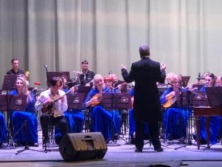 """Евсеев Данил в едином звучании с оркестром """"Сибирь"""""""